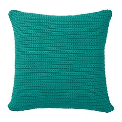 SÖTHOLMEN - Cushion cover, in/outdoor, turquoise