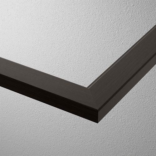 KOMPLEMENT - rak kaca, hitam-cokelat, 75x58 cm | IKEA Indonesia - PE799516_S4
