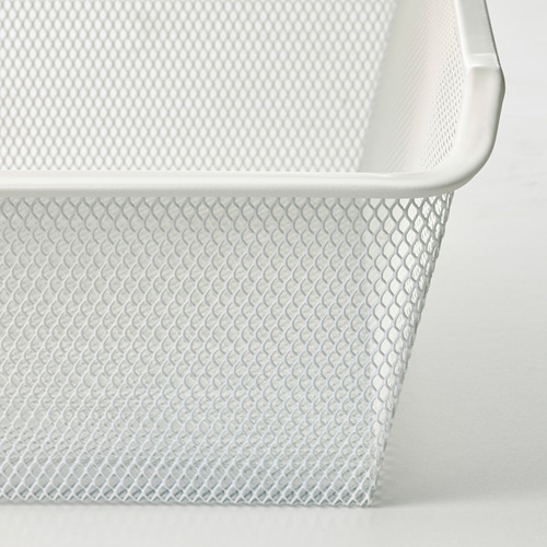 KOMPLEMENT - keranjang jala dengan rel tarik, putih, 50x58 cm | IKEA Indonesia - PE799550_S4