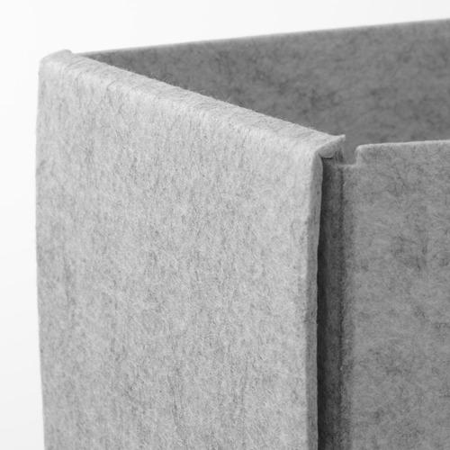 KOMPLEMENT - kotak, set isi 4, abu-abu muda, 40x54 cm | IKEA Indonesia - PE799555_S4