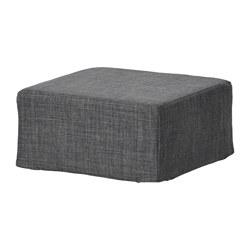 NILS - Stool cover, Skiftebo dark grey