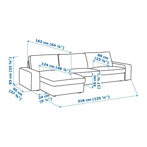 KIVIK sofa 4 dudukan