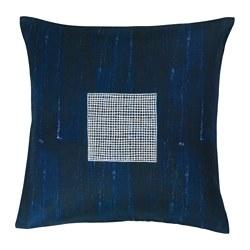 INNEHÅLLSRIK - Sarung bantal kursi, buatan tangan biru