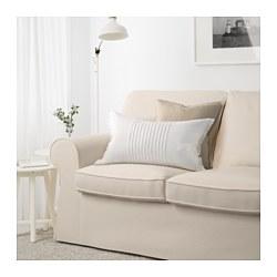 EKTORP - Sofa 2 dudukan, Lofallet krem