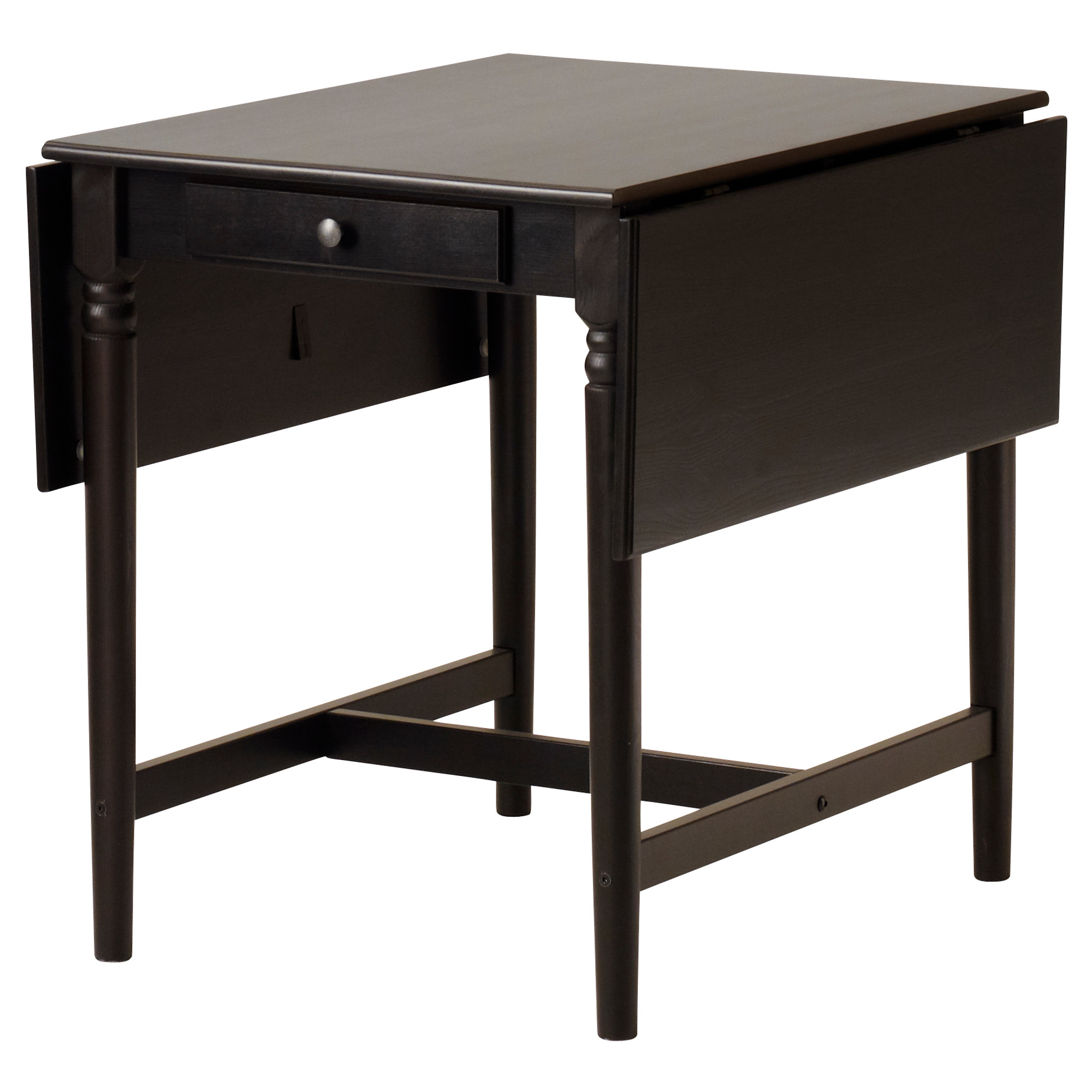 - INGATORP/STEFAN Table And 2 Chairs, Black-brown/brown-black IKEA