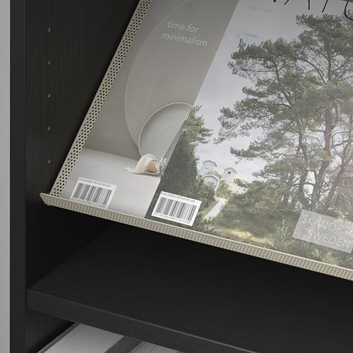 BOTTNA/BILLY rak buku dengan rak display