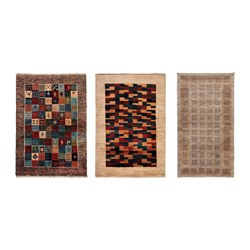 PERSISK GABBEH L - Rug, high pile, handmade assorted colours
