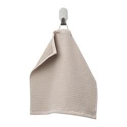 SALVIKEN - Handuk kecil, krem tua