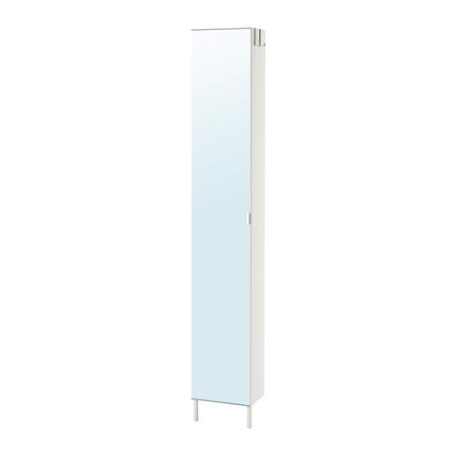LILLÅNGEN kabinet tinggi dengan pintu cermin