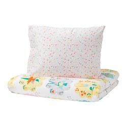 LATTJO - Quilt cover and pillowcase, fairy/light pink