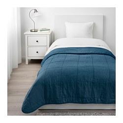 GULVED - Penutup tempat tidur , biru tua