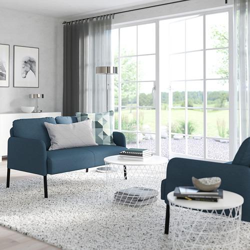 GLOSTAD - sofa 2 dudukan, Knisa biru medium | IKEA Indonesia - PE800742_S4