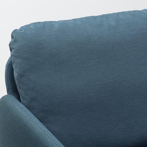 GLOSTAD - sofa 2 dudukan, Knisa biru medium | IKEA Indonesia - PE800739_S4