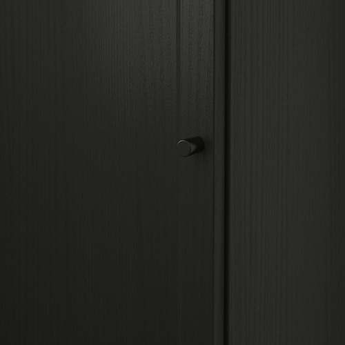 BILLY/OXBERG lemari buku dg pintu