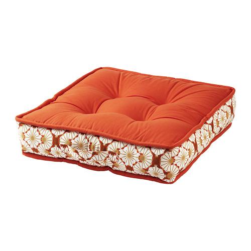 LJUVARE - bantal lantai, oranye, 48x48 cm   IKEA Indonesia - PE800862_S4