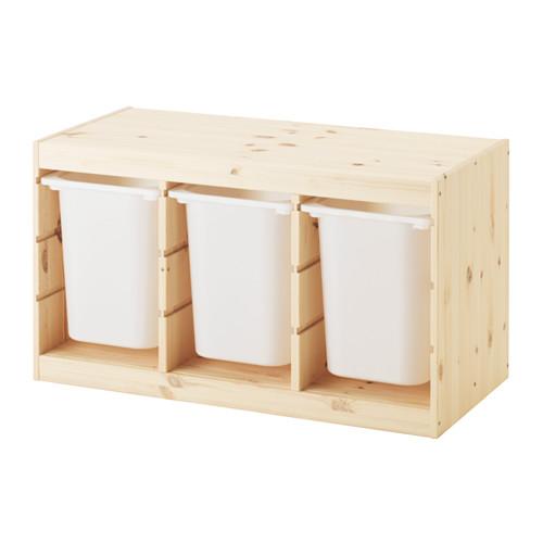 TROFAST kombinasi penyimpanan dgn kotak