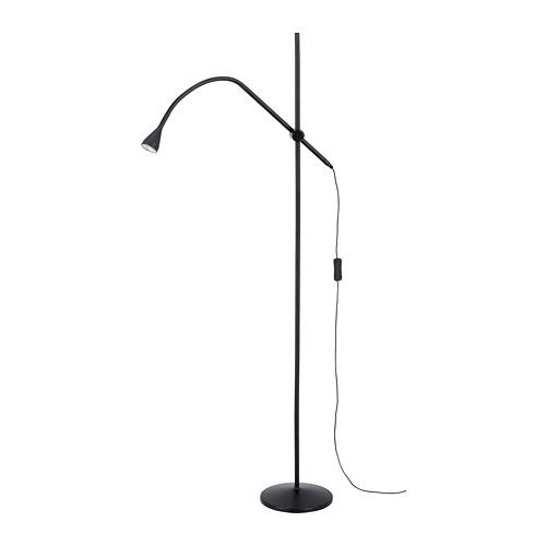 NÄVLINGE lampu lantai/baca LED