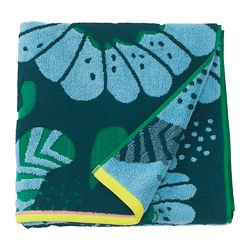 SANDVILAN - Handuk mandi, biru/aneka warna