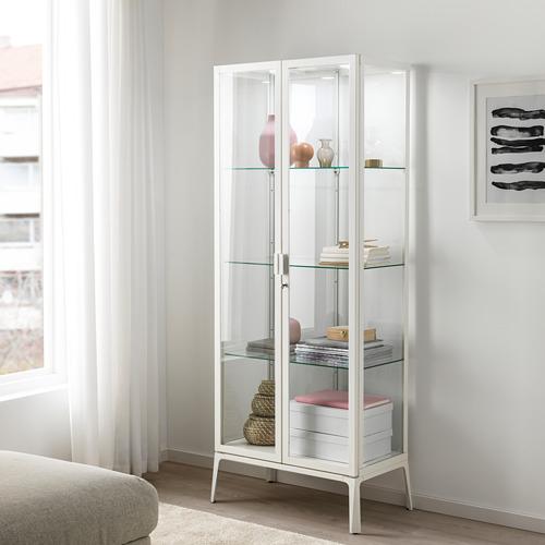 MILSBO - kabinet pintu kaca, putih, 73x175 cm | IKEA Indonesia - PE704496_S4