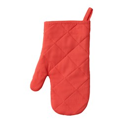 SOLGLIMTAR - Oven glove, red