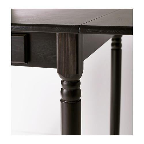 INGATORP meja dengan daun meja lipat