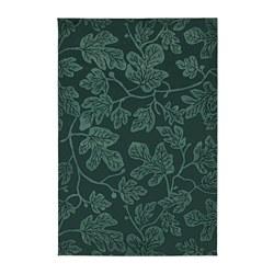 HILDIGARD - Karpet, bulu tipis, hijau