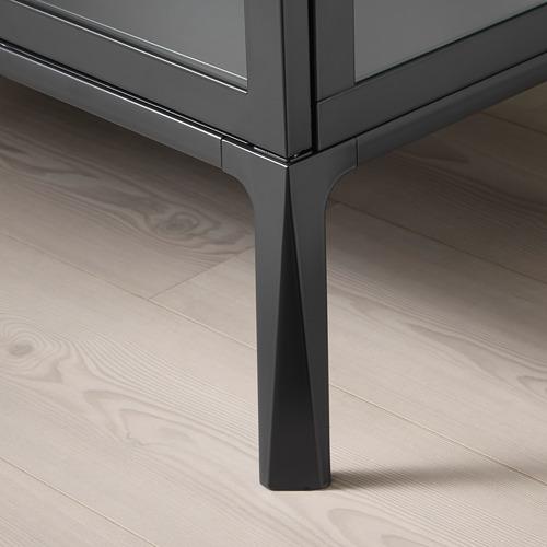 MILSBO - kabinet pintu kaca, antrasit, 73x175 cm | IKEA Indonesia - PE704498_S4