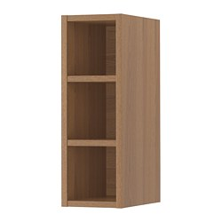 VADHOLMA - Open storage, brown/stained ash