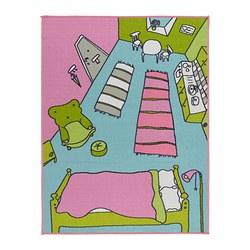 RUMMET - Karpet, bulu tipis, aneka warna