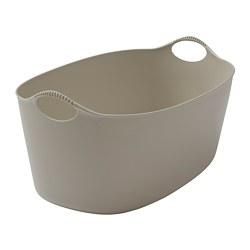 TORKIS - Flexi laundry basket, in-/outdoor, beige, 35 l