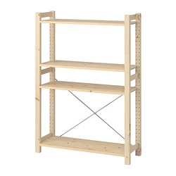 IVAR - Shelving unit, pine
