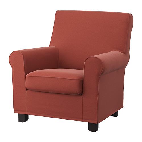 GRÖNLID - kursi berlengan, Ljungen merah cerah | IKEA Indonesia - PE780046_S4