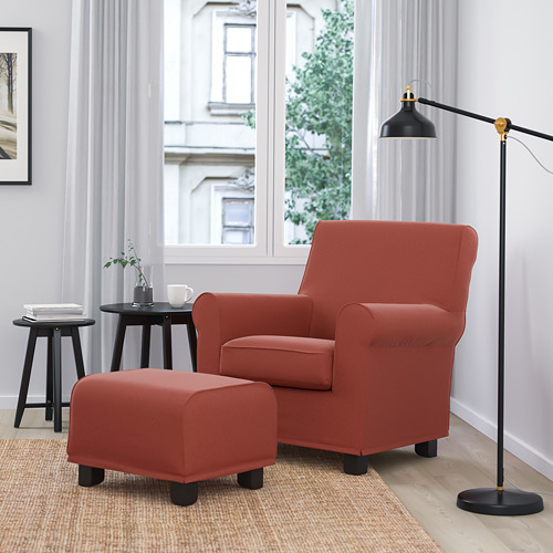 GRÖNLID - kursi berlengan, Ljungen merah cerah | IKEA Indonesia - PE780047_S4