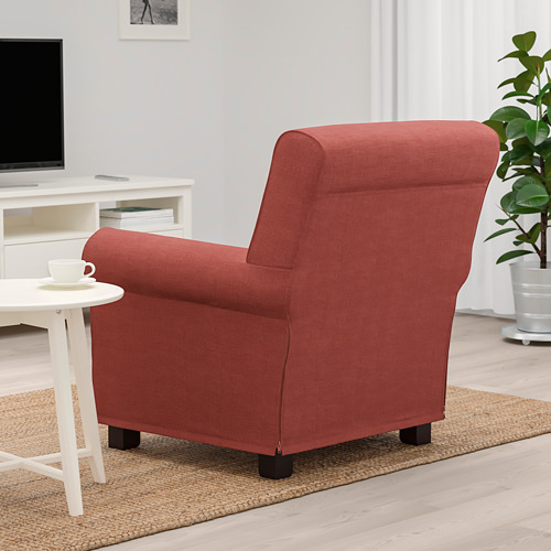 GRÖNLID - kursi berlengan, Ljungen merah cerah | IKEA Indonesia - PE780048_S4