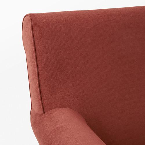 GRÖNLID - kursi berlengan, Ljungen merah cerah | IKEA Indonesia - PE780055_S4