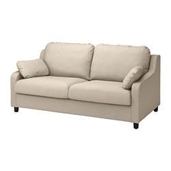 VINLIDEN - 3-seat sofa, Hakebo beige
