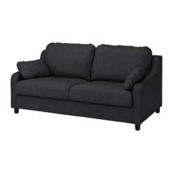 VINLIDEN - 3-seat sofa, Hillared anthracite