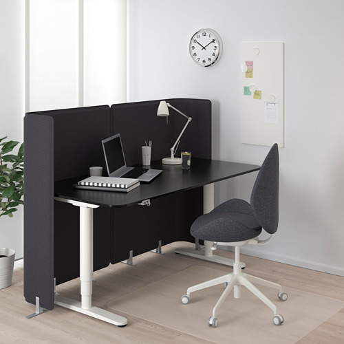 BEKANT reception desk sit/stand