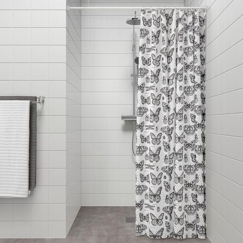 SOMMARMALVA tirai shower