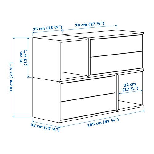 EKET kombinasi kabinet dpasang di dnding
