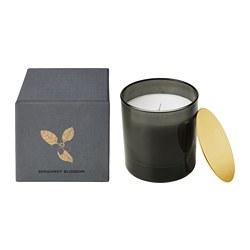 NJUTNING - Lilin beraroma dalam gelas, Blossoming bergamot/abu-abu