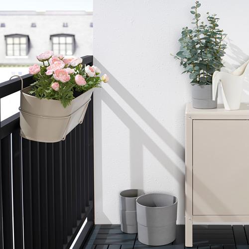 VITLÖK flower box with holder
