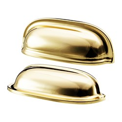 ENERYDA - Gagang cangkir, warna kuningan