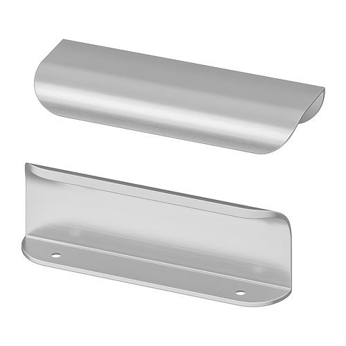 BILLSBRO - gagang, warna baja tahan karat, 120 mm | IKEA Indonesia - PE747863_S4