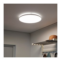 NYMÅNE - LED ceiling lamp, white
