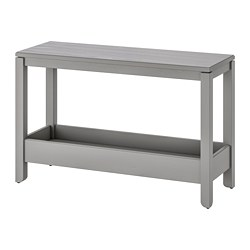 HAVSTA - Console table, grey
