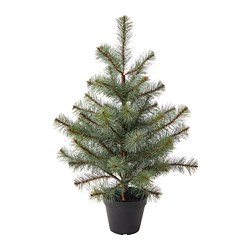 VINTER 2020 - Artificial potted plant, in/outdoor/Christmas tree green