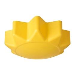 SOLHEM - Lampu plafon, kuning matahari
