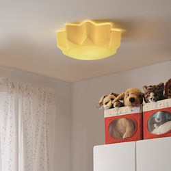 SOLHEM - Ceiling lamp, yellow sun