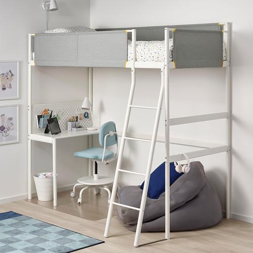 VITVAL rangka tempat tidur tinggi dg meja